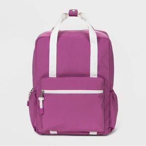 Wild Fable Square Backpack Snap Top Handle Purple